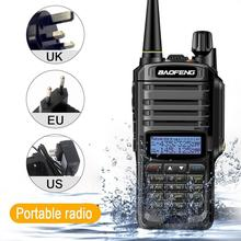 Baofeng UV-9R Plus wasserdichte Walkie Talkie CB Radio 8 W High Power <span class=keywords><strong>VHF</strong></span> <span class=keywords><strong>UHF</strong></span> Dual-Band-Handheld Zwei Weg Radio 10 km lange palette