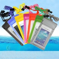 New Style PVC Fashion Waterproof Phone Bag For Promotion