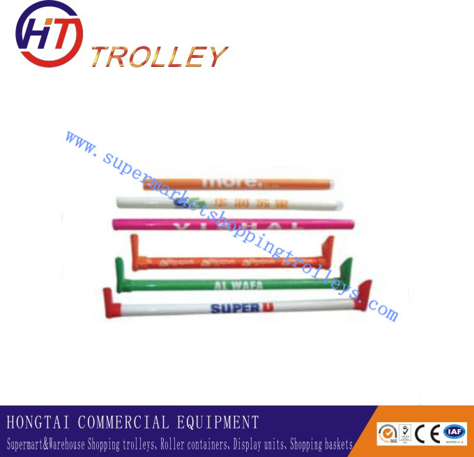 Customized Shopping Cart Hand Bar & Shopping Trolley Handle Tube