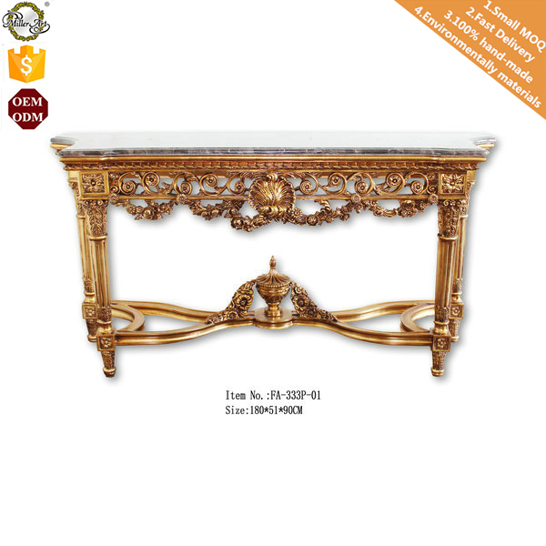 Astounding Granite Marble Top Console Table Antique French Rococo Gamerscity Chair Design For Home Gamerscityorg