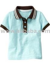 polo T shirt 100% organic cotton baby and toddler clothing