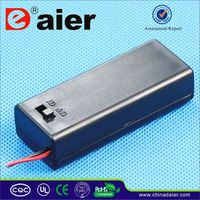 Daier coin cell battery holder with switch