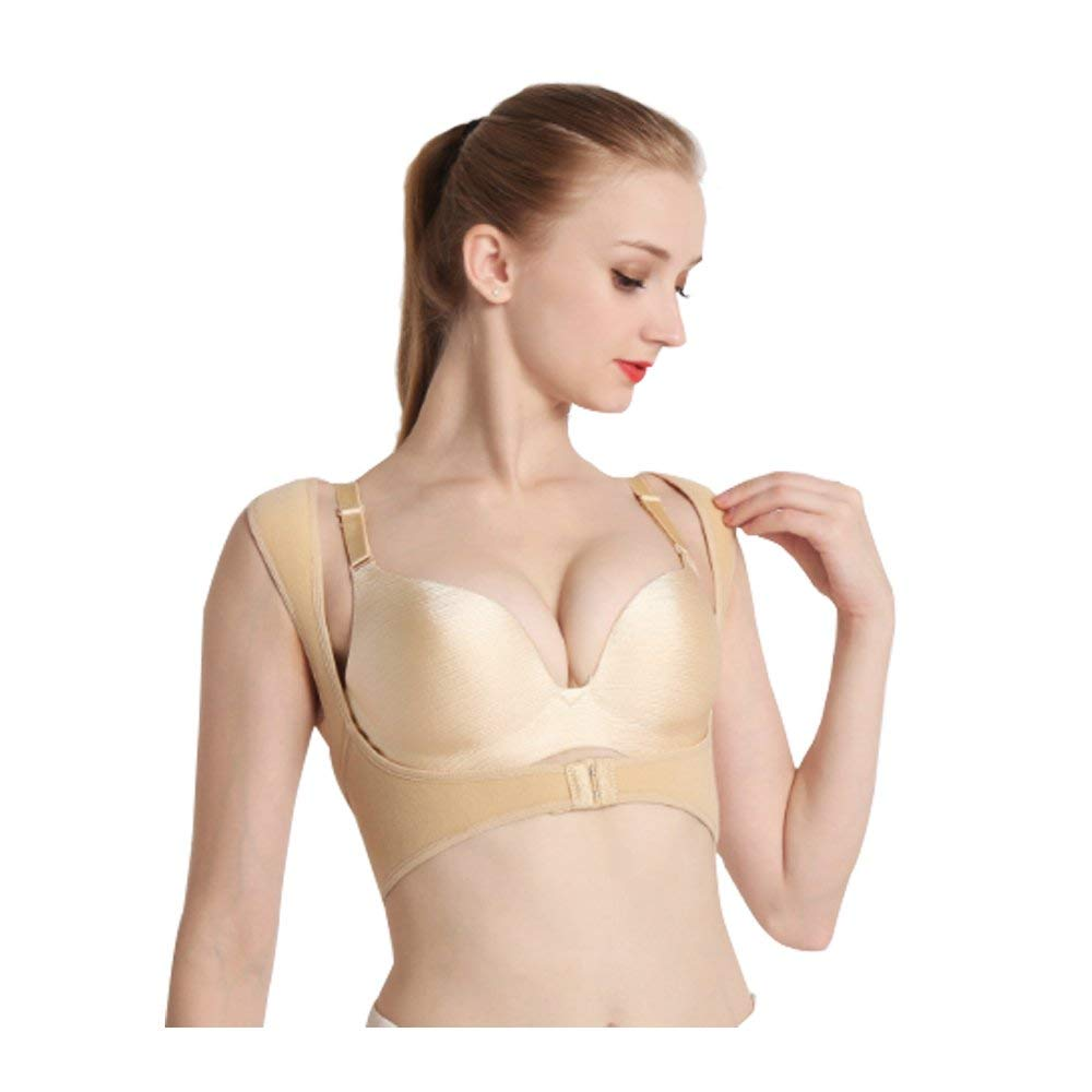 3b011a13c531e Get Quotations · Breast Supports for Women,Racerback Firm Control  Adjustable Back Bra Chest Posture Corrector Vest Prevent