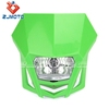 Hot Sale Green Universial Motorcycle Headlight bulbs Headlight Faring For Dirt Bike Sports Bike