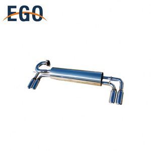Professional Custom Design Dual Racing Motorcycle Exhaust