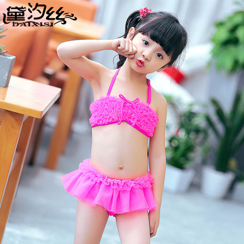 Summer Baby Girls Cute Little Bikini Set Two Piece ...