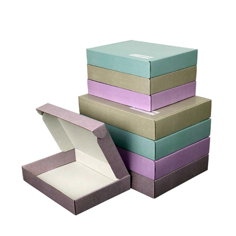 Заводская Прямая поставка с логотипом на заказ, Гофрированная коробка с красивой печатью для работы, домашняя упаковка, товары, почтовая коробка