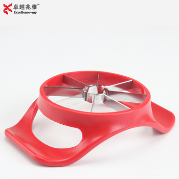 8 Blades Razor Sharp ABS Handle Stainless Steel Apple Peeler Apple Corer Slicer