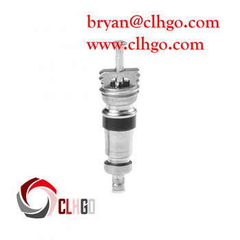 ac valve. auto ac air conditionning standard r12 valve core service port ac