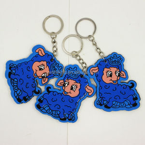 China Wholesale Promotional Gifts Animated Cheap Keychain