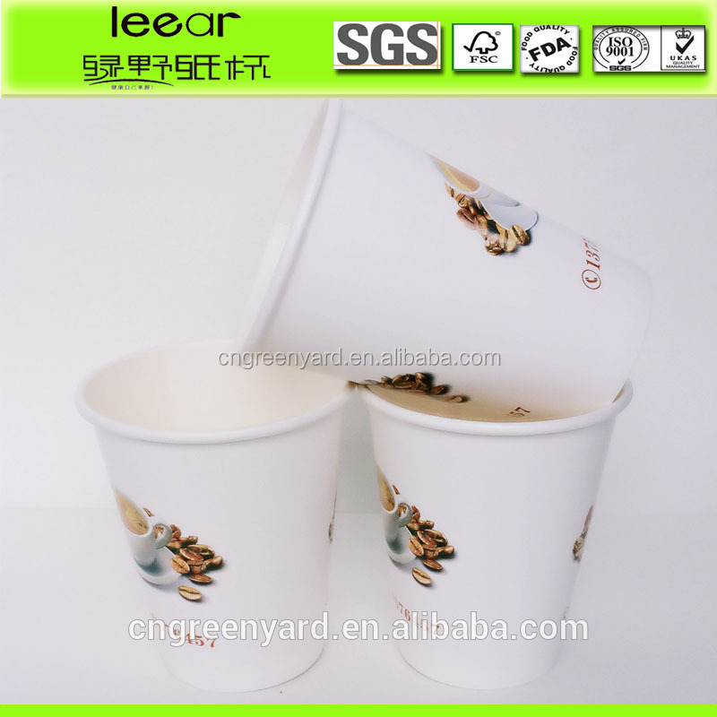 2016 new design paper cup for child/ cartoon printing paper cup/students designed disposable cup