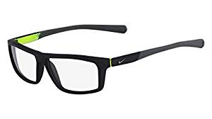 00a0734d3db Get Quotations · Nike eyeglasses 7085 005 Plastic Matt Black - Matt Grey
