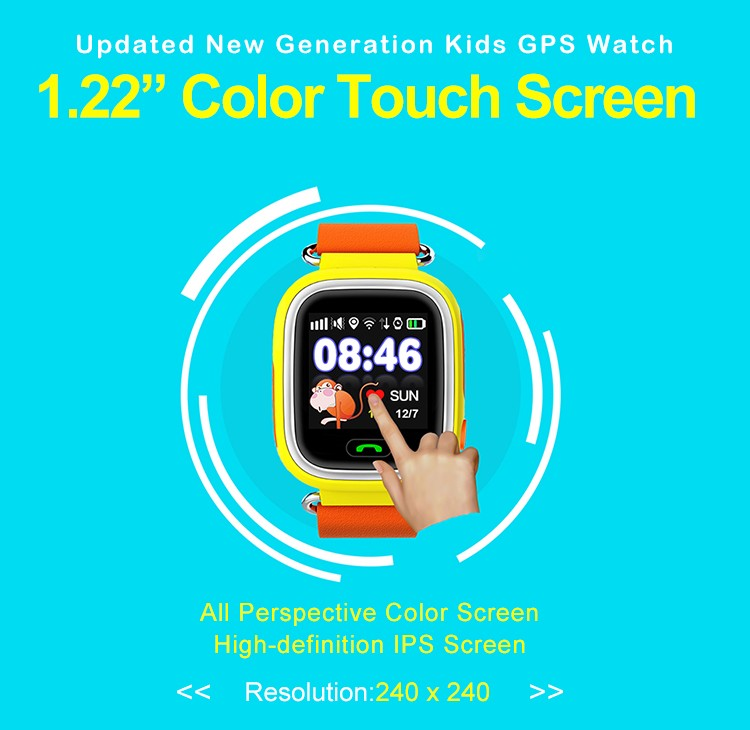 2019 Best Gift Android Smart Watch for Primary Children