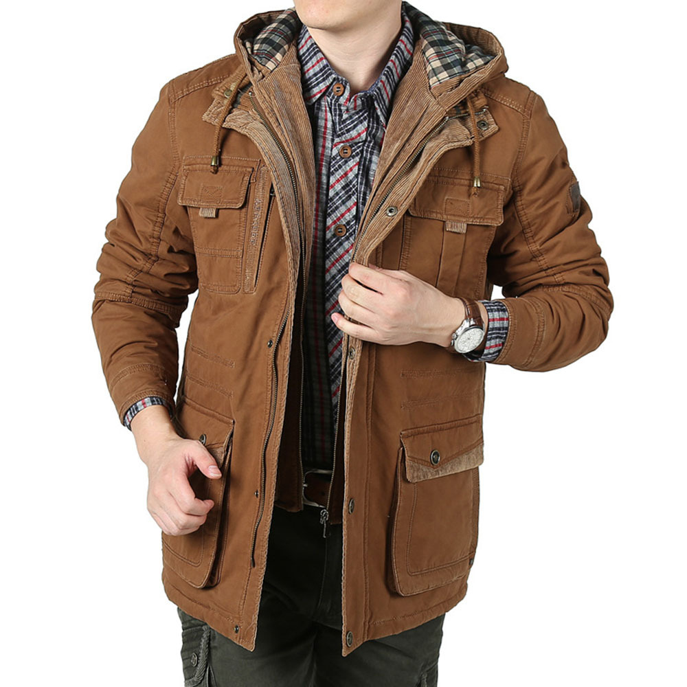 Mens Military Style Winter Coats | Down Coat