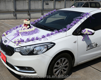 Hot Sale Wedding Large Decoration Car Flower Buy Decoration