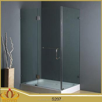aluminium fiberglass free standing shower cubicle enclosure s207