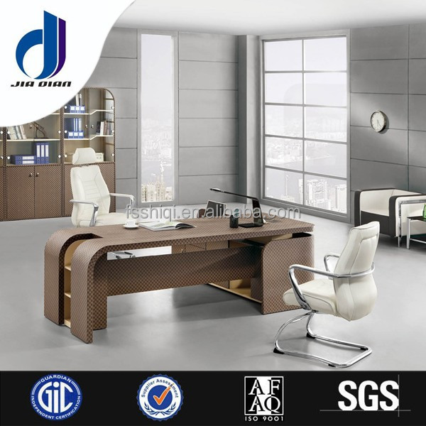 F-33 Elegant design office furniture executive desk set, high tech office desk executive