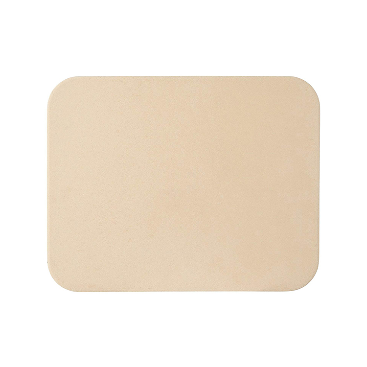 Pizza tools durable thermostability refractory rectangle cordierite pizza baking stone for gas oven