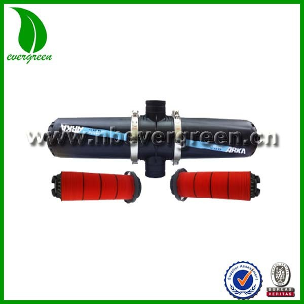 "agriculture machinery equipment H-type 3"" plastic male disc filter for drip pipe irrigation"