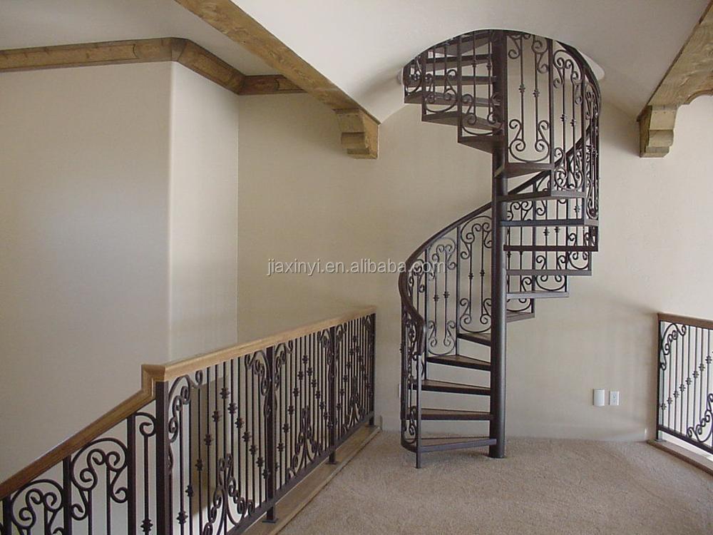 Diferentes estilo antiguo de hierro forjado escalera en - Escalera en espiral ...