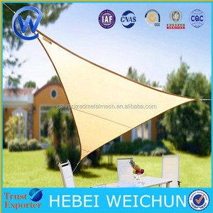 Triangle Sun Shade Sail UV Block Fabric Sail Perfect for Outdoor Patio Garden Swimming pools
