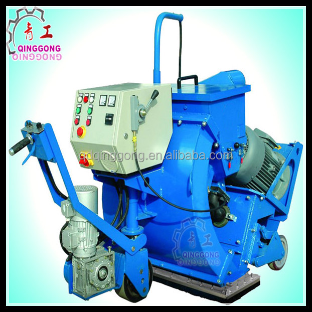 Highway Concrete/Asphalt Road Cleaning Floor Shot Blasting Machine