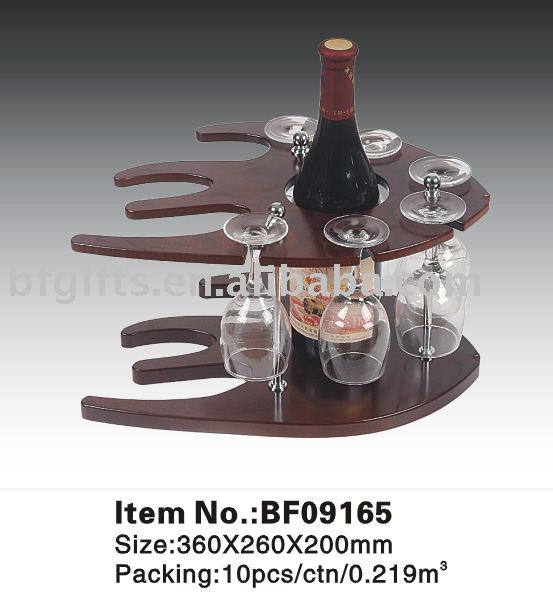 Wooden wine set&Gifts:BF09165