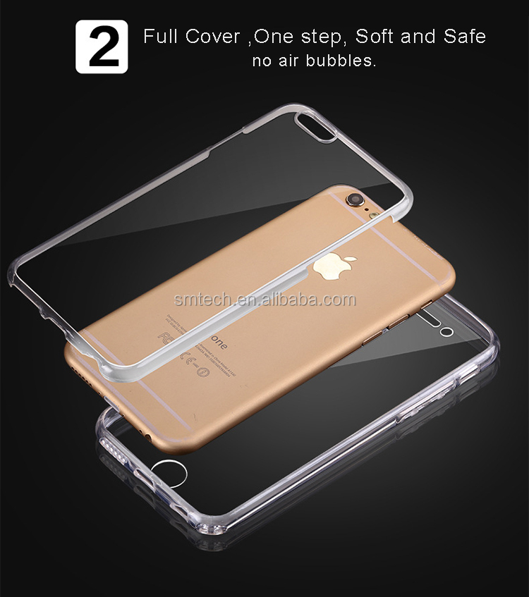 Cheap phone case front + back 2 in 1 case phone cover for Samsung S8