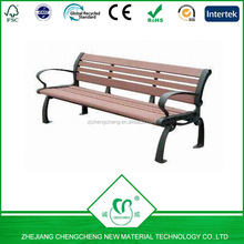 recycle and waterproof WPC outdoor bench for garden decoration