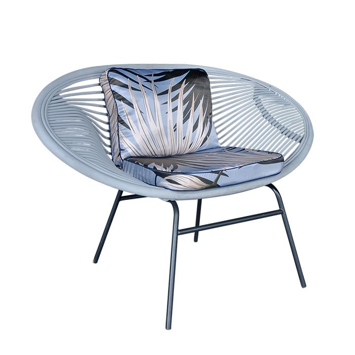 Mây Ngoài Trời Vườn Bãi Biển Lounge Châu Âu Phong Cách Wicker Sofa Ghế