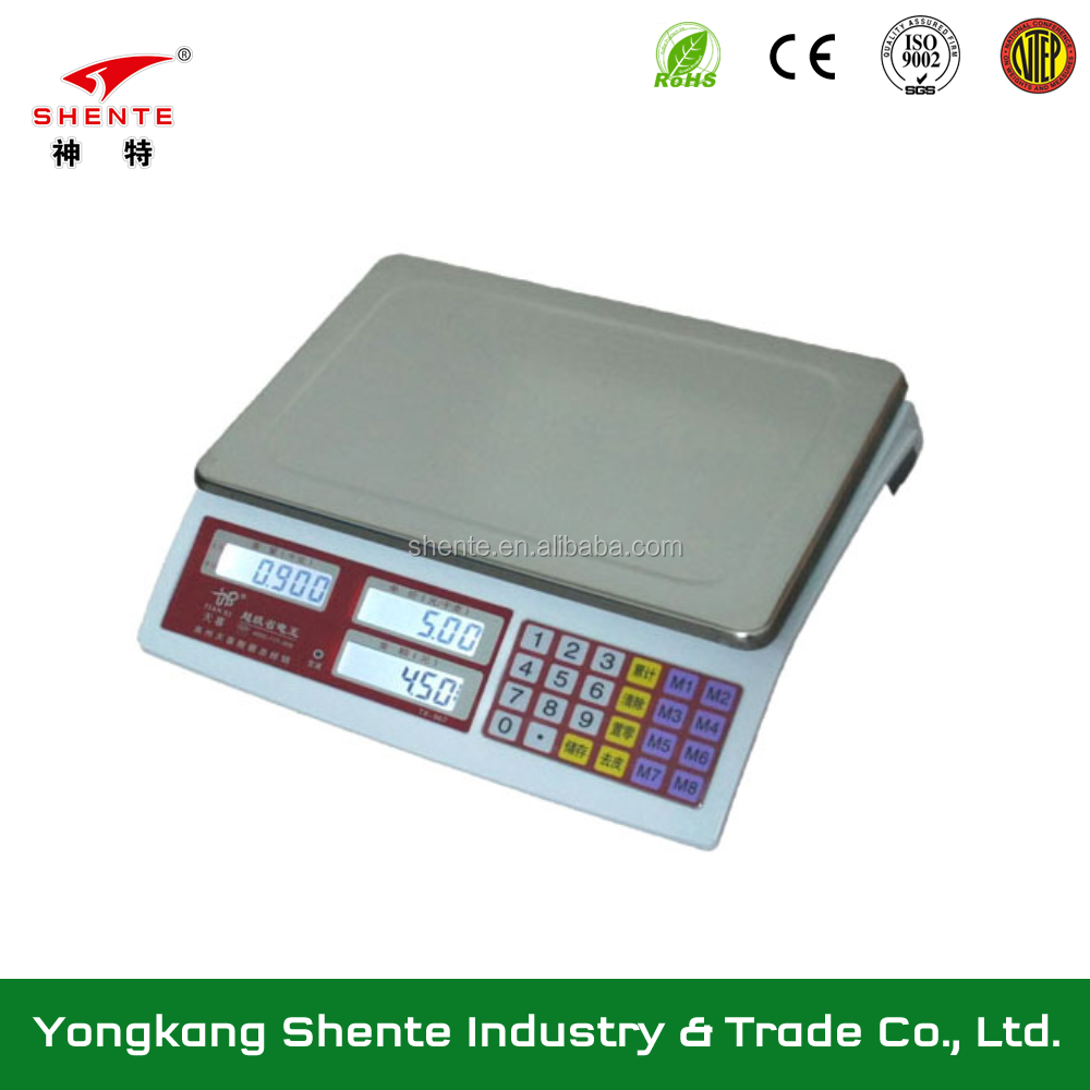 China factory directly sale digital electronic weighing scale for normal food and fruit