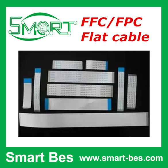 Smart Bes~FFC/FPC Flat cable 36P/37P/38P/39P/40P 0.5/1.0mm coplanar/verso flexible cable 4mm
