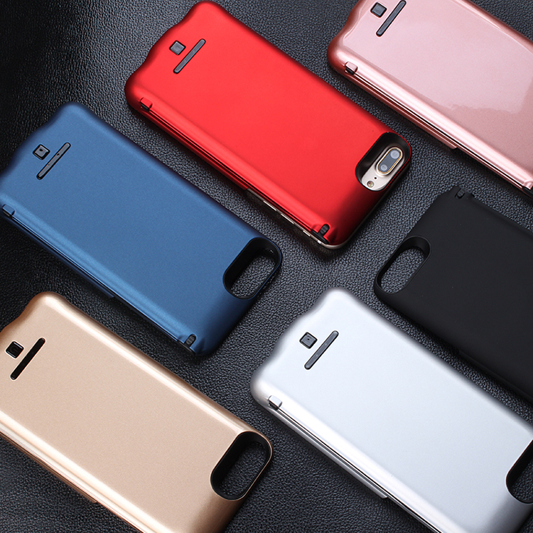 For Iphone 6 7 Battery Charging Case 5000/8000 Mah Power Bank Case Charger Cover Pack PowerBank Fits For Iphone Battery Case