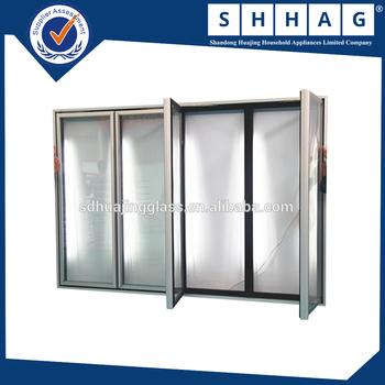 New Design Top Sale Glass Door Used For Glass Door Display Walk In