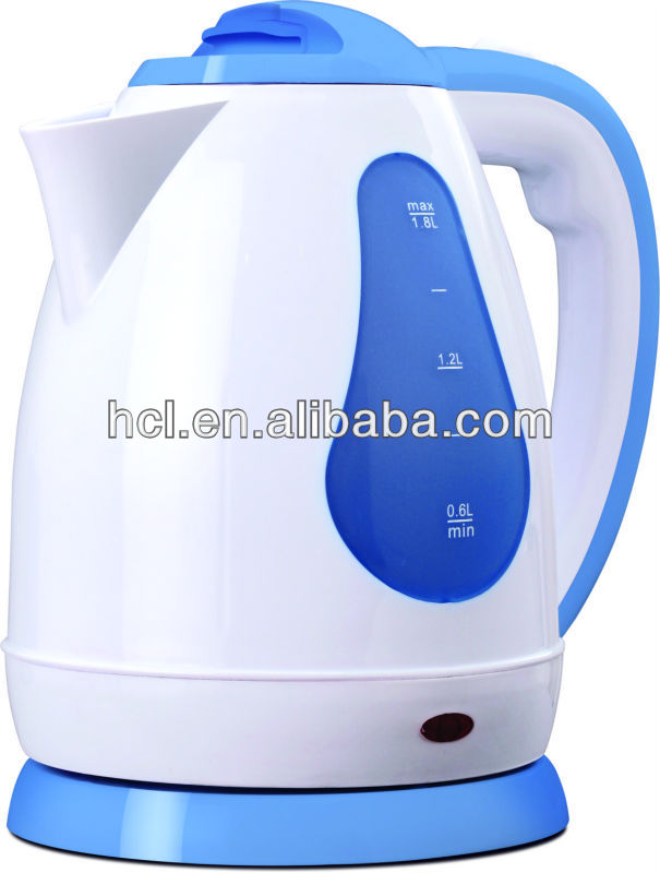 Plastic electric kettle PP water kettle HEK10