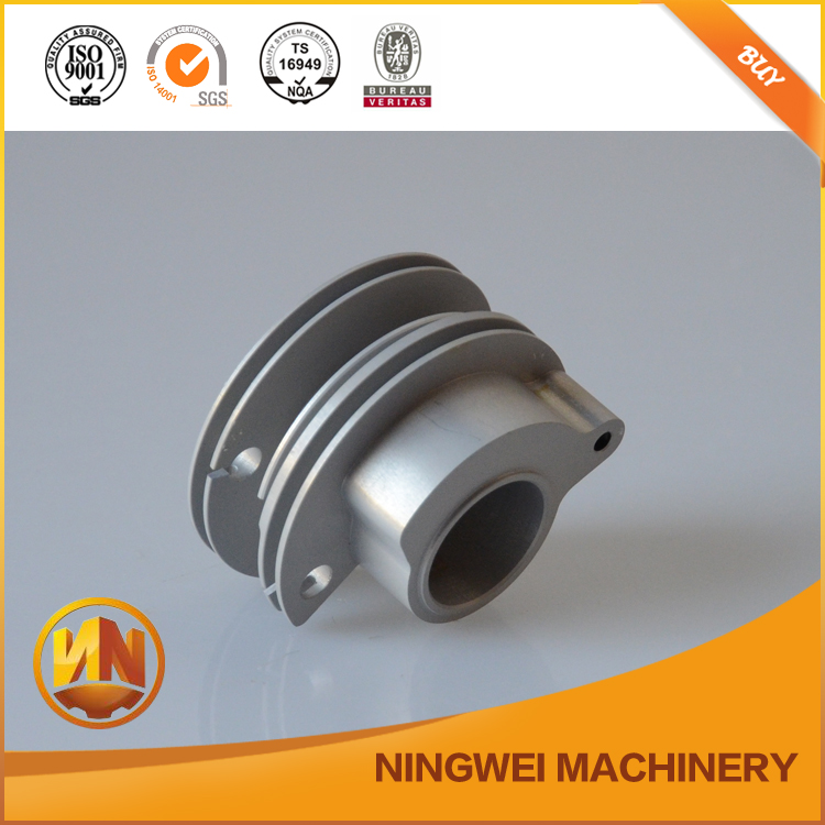 aluminium oem parts applied for railway machinery with yoke frame machining