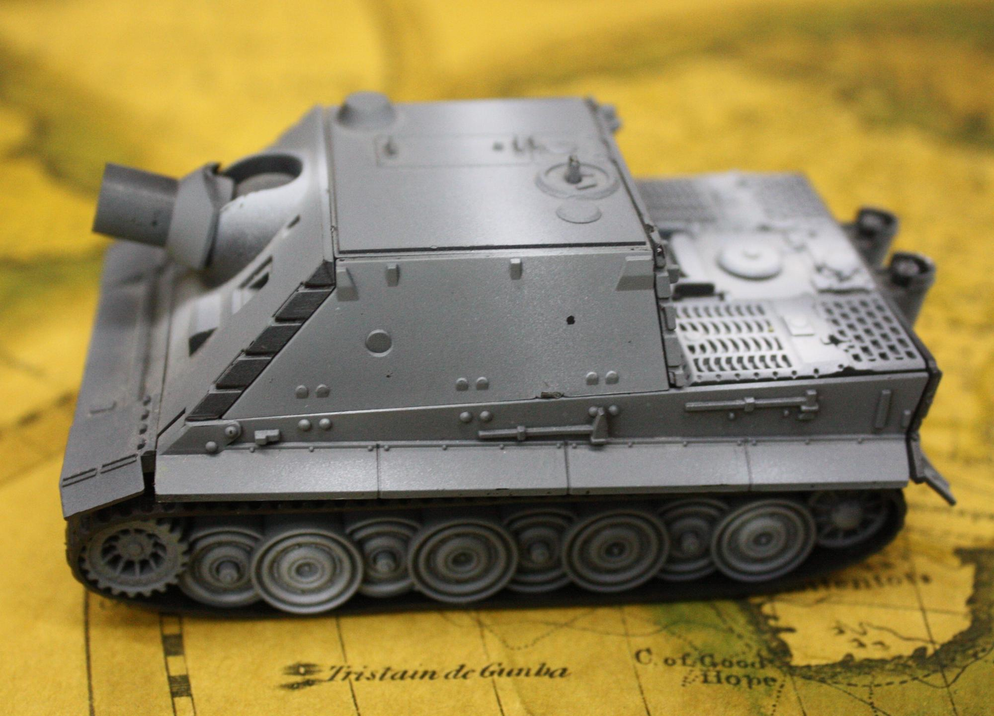 How to assemble a tank