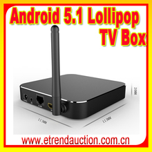 Latest KODI Full Loaded T95 Android Quad Core TV Box Android 5.1T95 Multilateral Languages smart tv box