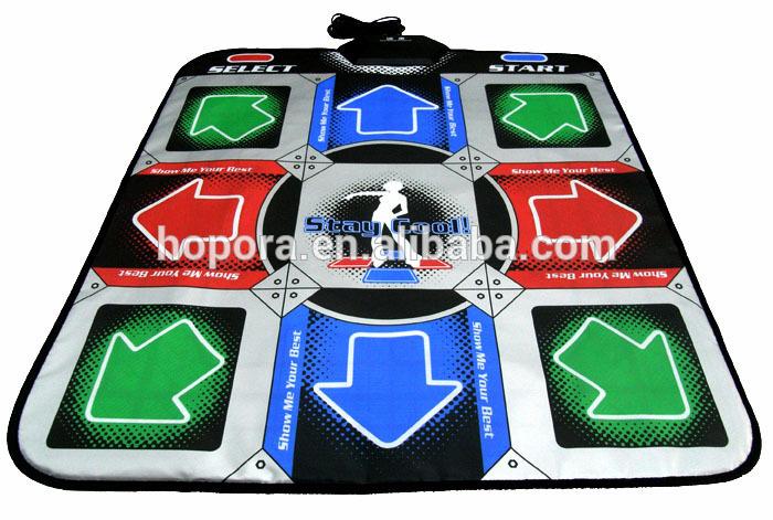 Padded Mat for an Arcade Feel USB Dance Mat Pad Electronic Musical Playmat Toys PC USB Dancing Mat