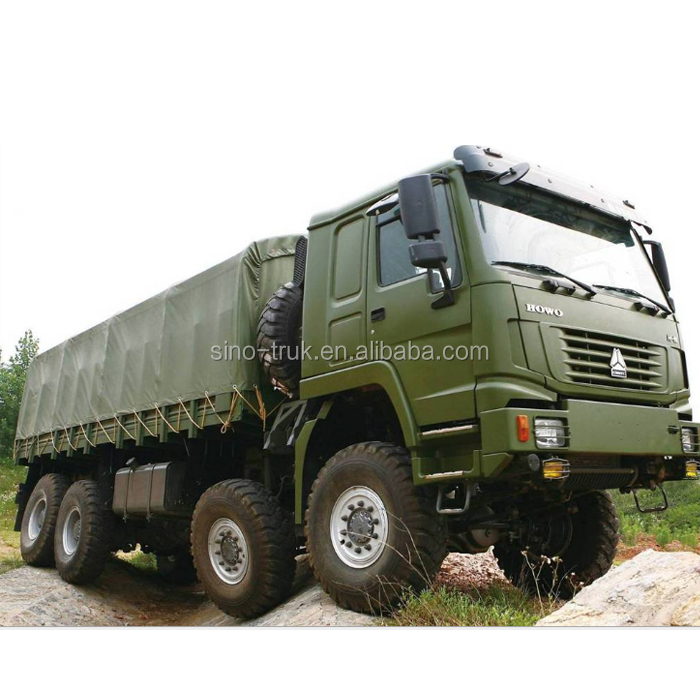 Special Military Purpose HOWO 8x8 off-road truck