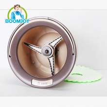 Boomjoy easy life mop spinning mop 360 rotating magic spin mop with pads cleaning brush as seen on TV.
