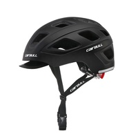 CAIRBULL CASTLE 2019 New Trending Adults Urban Bike Helmet With Detachable Rear Light CE CPSC Approved
