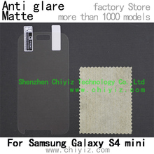 matte anti glare screen protector protective film for Samsung Galaxy S4 mini I9190 I9192 I9195 I9197 E370