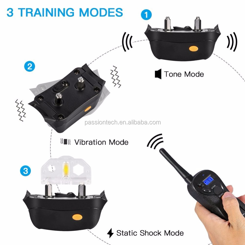 600M Remote Training Range 100% Waterproof Innovative Blind Operatio dog training collar