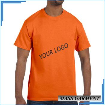 665ddae9 Orange Color Best Selling Slim Fit Men's T shirts Plain Designer Western  Tops Images Shirts