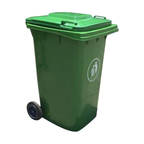 120l 240l plastic material Eco-friendly Feature waste bin/ dustbin with wheels
