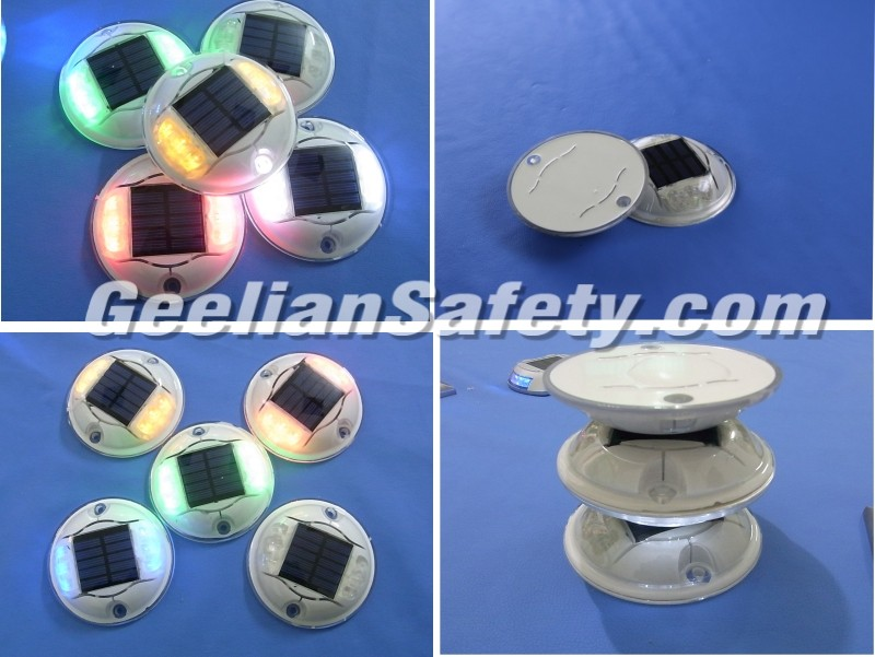 China Manufacture Competitive Flashing LED Solar Ground Lights Road Stud