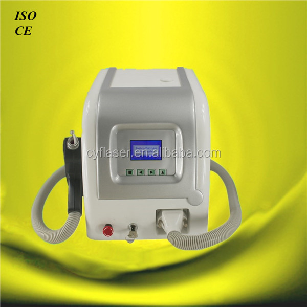 Factory Price CE approved tattoo machine q-switch nd yag / Q-switch nd yag laser tattoo removal machine