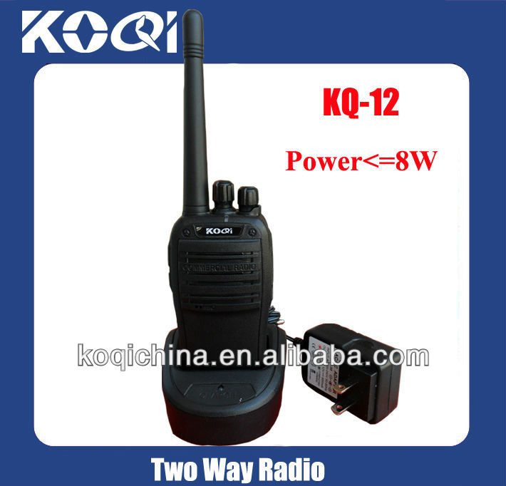 KQ-12 easy and simple to handle walkie talkie radio