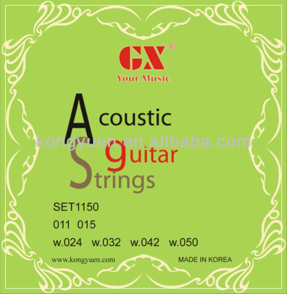acoustic guitar strings for musice instrument/alice guitar strings